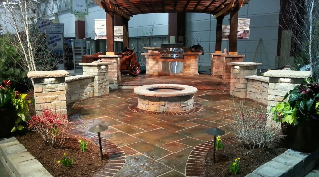 Backyard Landscaping Shows : Home and garden shows kelly s greenscapes landscape contracting